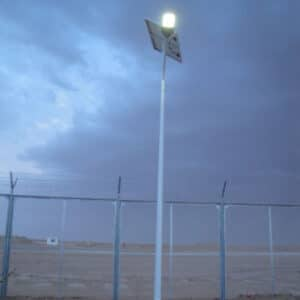 7M solar street light